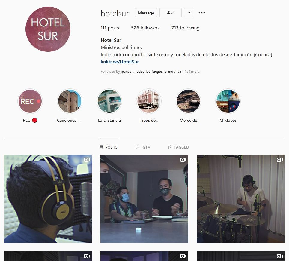 Proyecto Musical: Hotel Sur 5