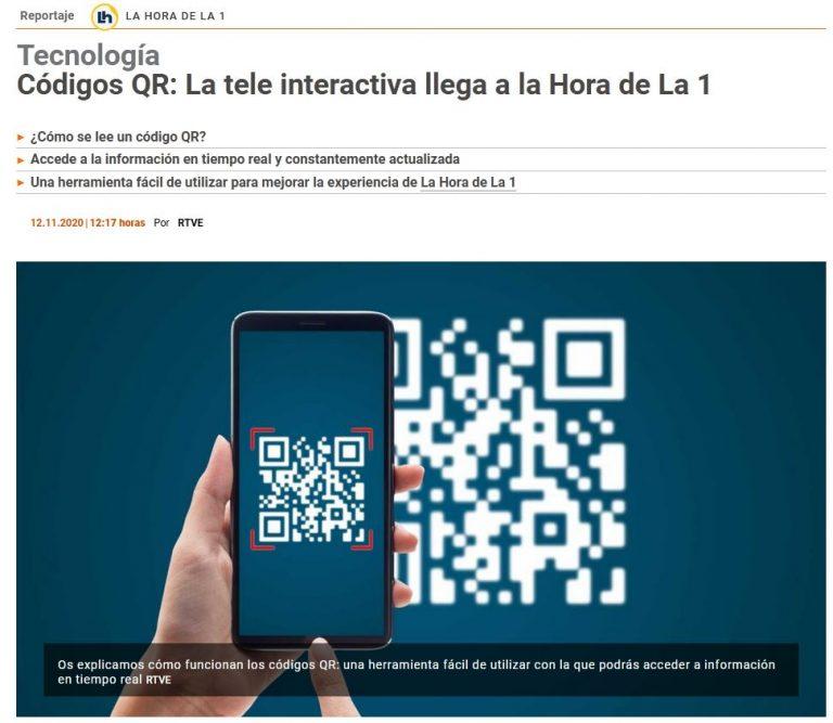 Periodismo digital: La Hora de La 1 9